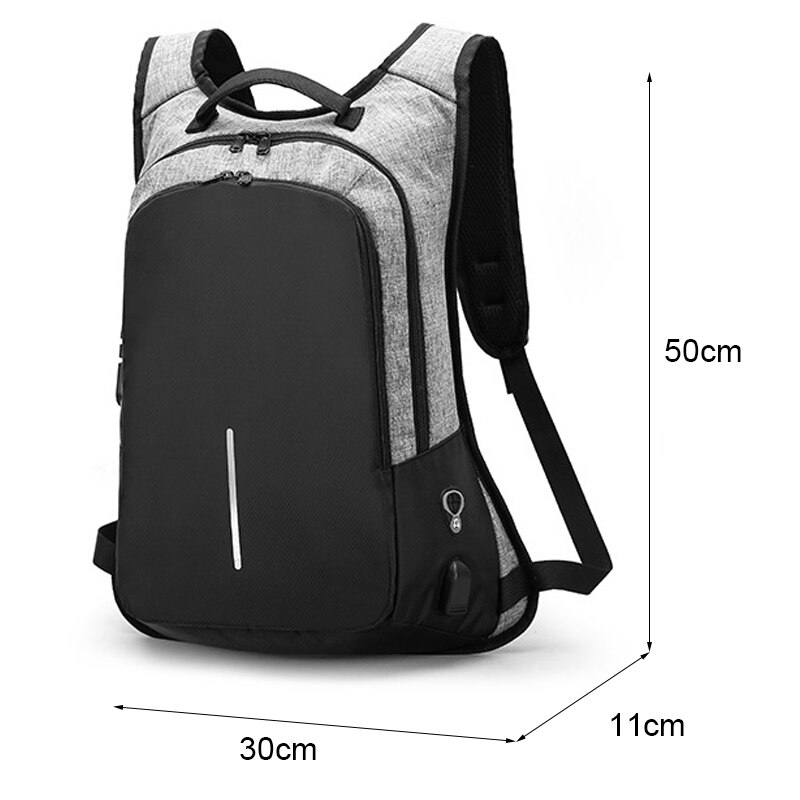 Anti Theft Waterproof Backpack 5
