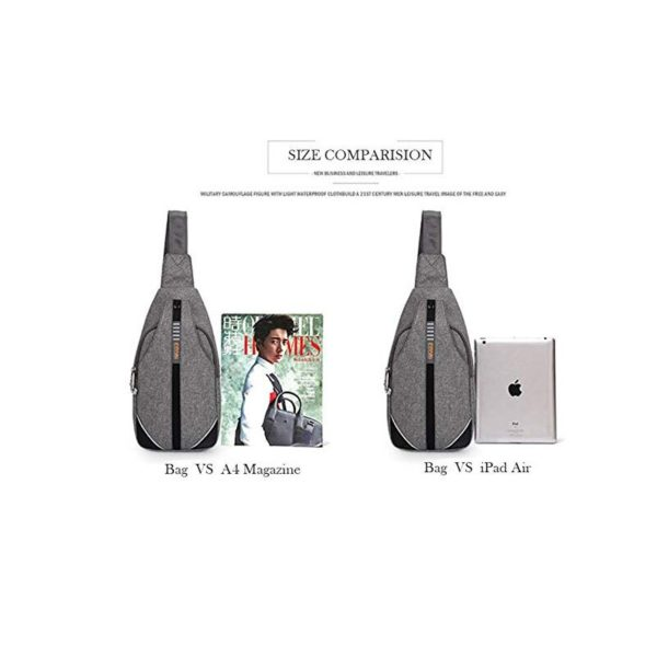 Anti theft Crossbody Backpack - - -15