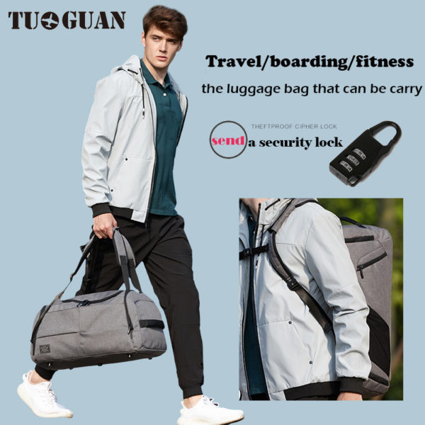 Anti theft Multifunctional Backpack-2 -5