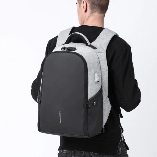 Men's Anti Theft Backpacks-5
