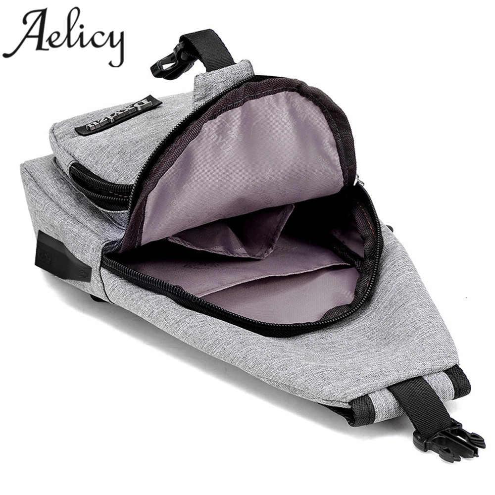 Anti theft sling type Backpack Unisex 6