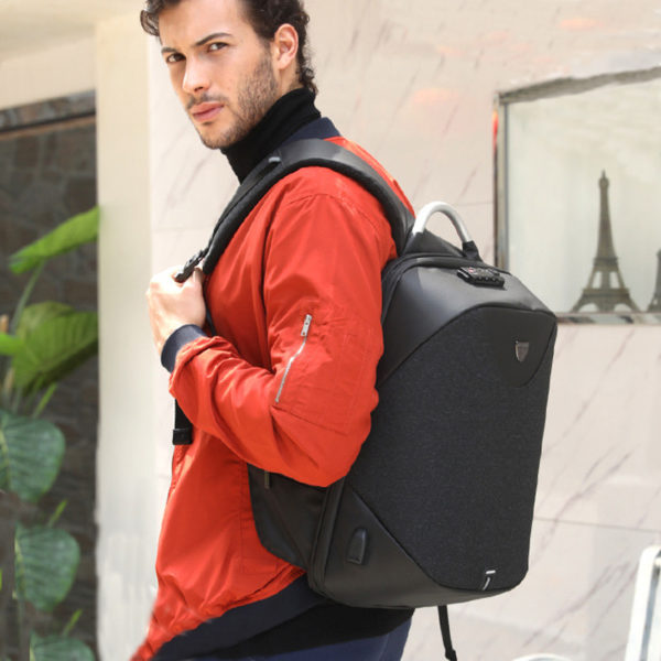Men's Anti theft Backpack6