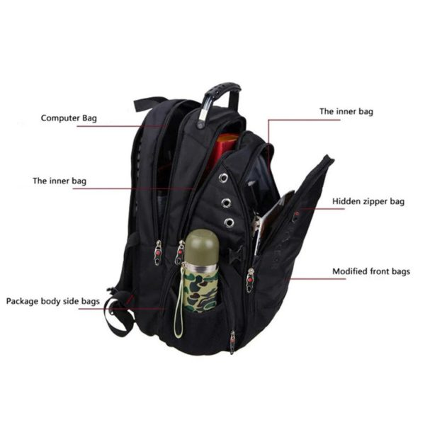 Men's Anti theft Backpack ---6