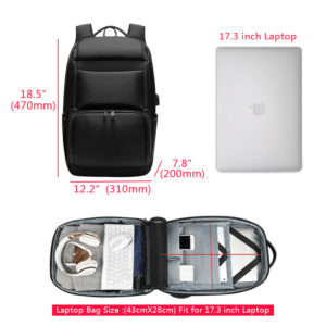 Anti theft Waterproof Backpack - -1 -- 6