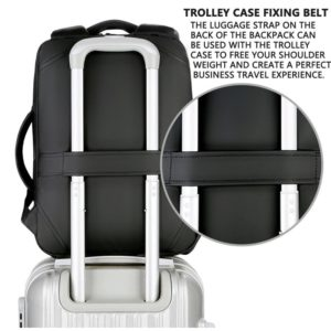 """Anti-theft multifunction backpack - 15.6"""" 6"""