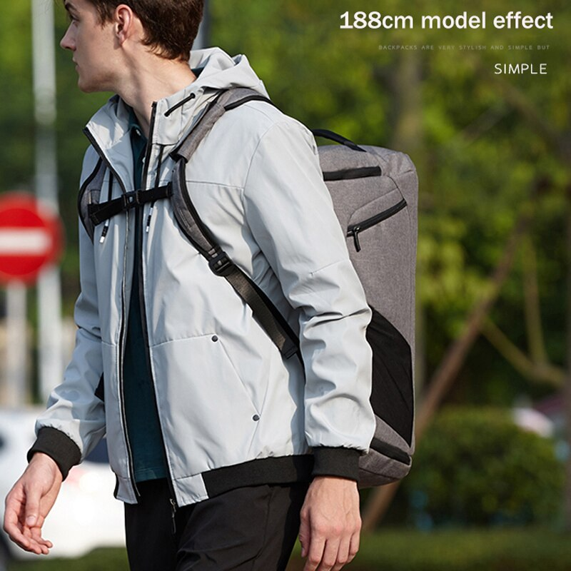 Anti theft Multifunctional Backpack-2 -6