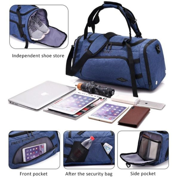 Anti theft Multifunctional Backpack 5 -6