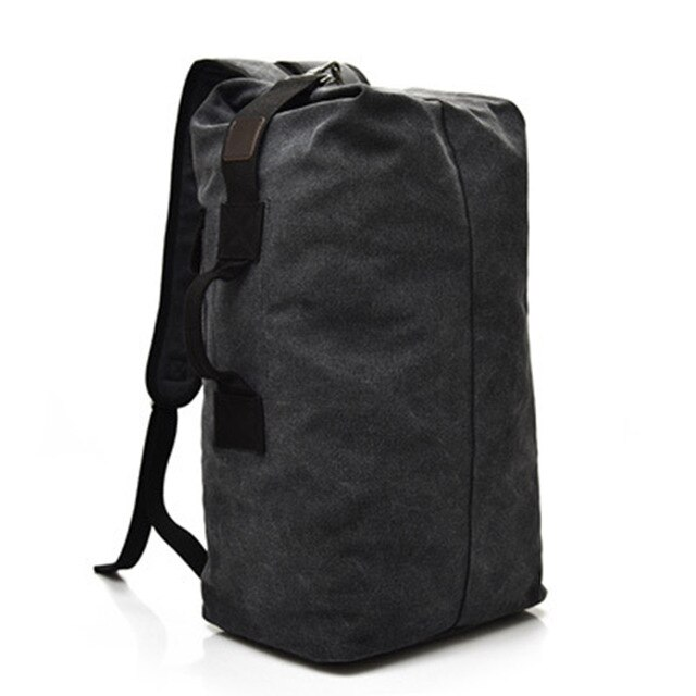 Men's Anti Theft Large Backpack black