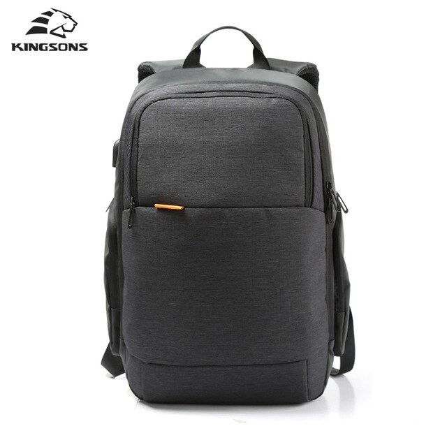 "Men's Anti theft Waterproof Backpack 15.6"" - 1- 7"