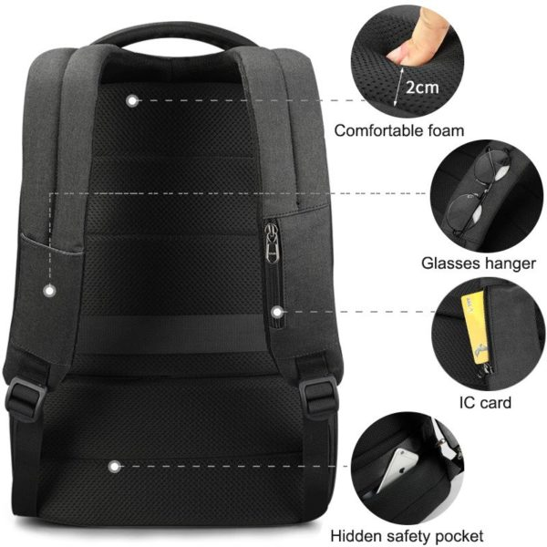 """Anti Theft Backpack – 15.6"""" 7"""