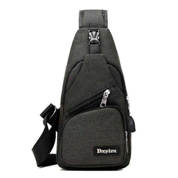 Anti theft sling type Backpack Unisex 7