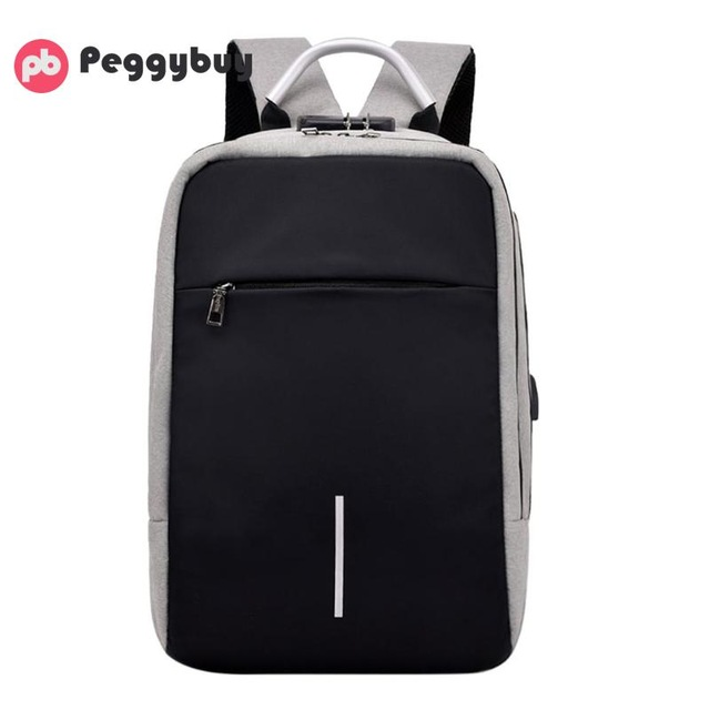 """Anti-theft backpack -15.6"""" 7"""