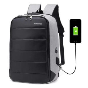 """Men's Anti theft backpack - 15"""" - 8"""