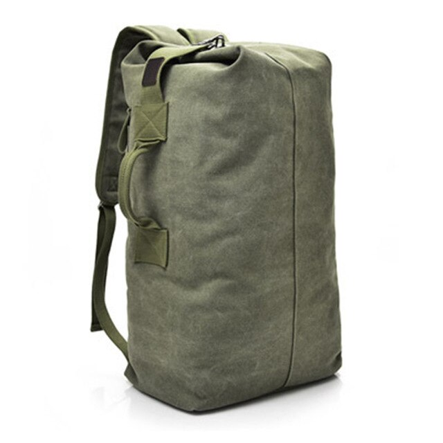Men's Anti Theft Large Backpack Army Green