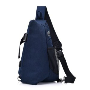 Men's anti theft triangle crossbody Backpack8