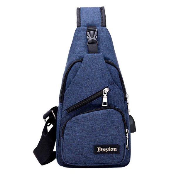 Anti theft sling type Backpack Unisex 8