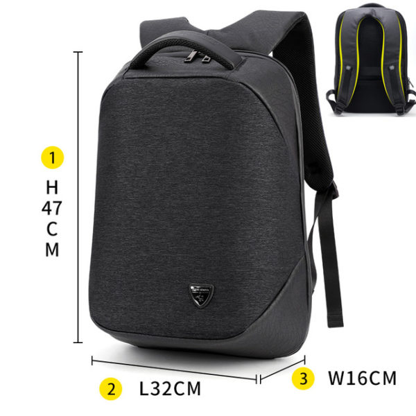 "Anti Theft waterproof Backpack -15.6"" 9"