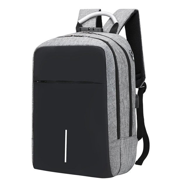 "Anti Theft Backpack -15.6"" 7"