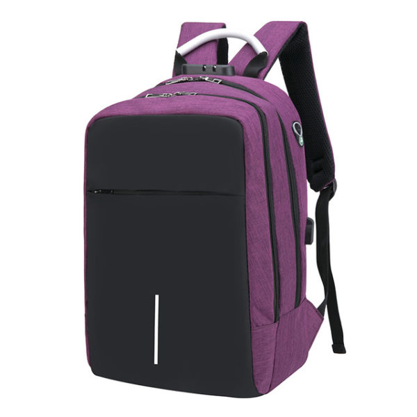 "Anti Theft Backpack -15.6"" 8"